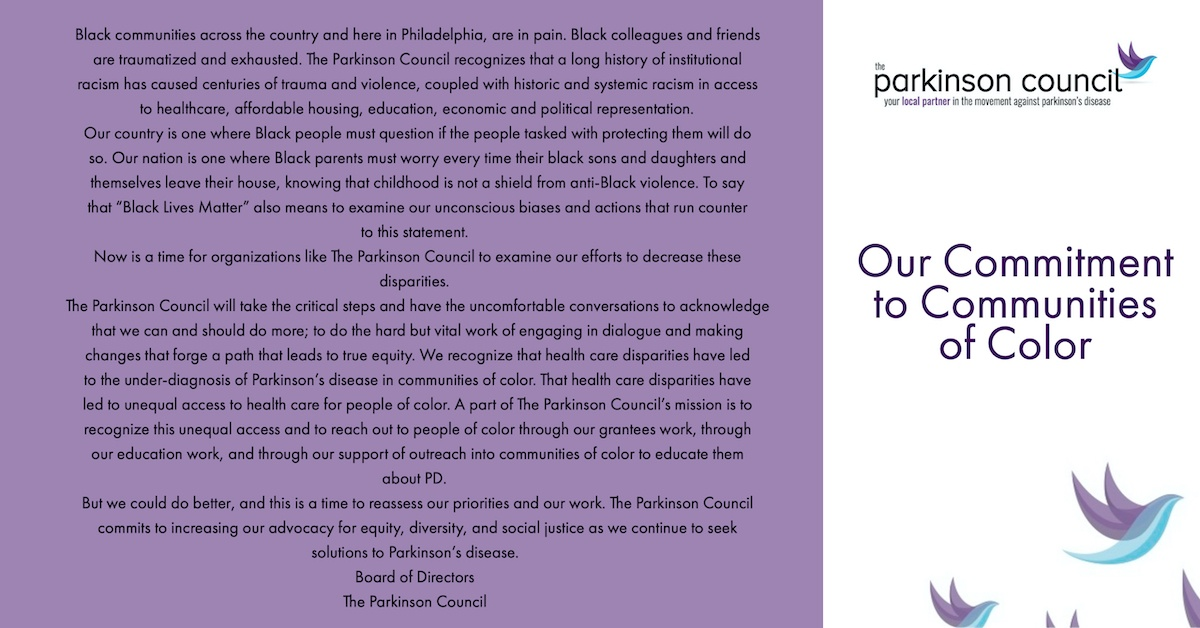 TPC Statement on Commitment to Communities of Color